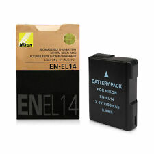 Fully Decoded Battery for Nikon EN-EL14 14a D3100 D3200 P7000 P7700 D5500 df UK