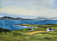 ORIGINAL AQUARELL - Landschaft in Irland.
