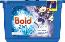 Bold 2 in 1 Washing Capsules Lavender & Camomile 18 Washes