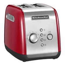 Kitchenaid 5KMT221EER Toaster (1100 W) für 2 Scheiben Ganzmetallgehäuse Rot