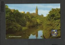 J Salmon Colour Postcard The University Glasgow Scotland