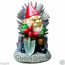Game Of Gnomes Garden Gnome by BigMouth Inc Garden or Indoor Gift  NEW
