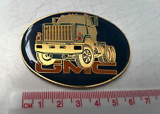 Small GMC TRUCKS Plastic Badge
