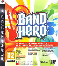 Band Hero PS3 Playstation 3 IT IMPORT ACTIVISION BLIZZARD