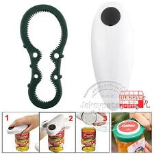 UK One Touch Automatic Electric Can Tin Jar Opener Hands Free Battery Operated