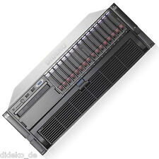 HP ProLiant DL580 G5 4x QuadCore Xeon E7430 16x 2,13 GHz 128 GB RAM 4x146 GB HDD