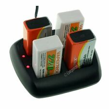Intelligent Battery Charger for 1-4 PP3 8.4V (9V) NiCd/NiMH batteries. UK seller