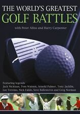 The World's Greatest Golf Battles - DVD Region 1 Brand New Free Shipping