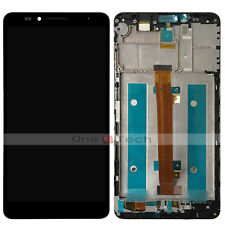 Huawei Ascend Mate 7 MT7 Black Front Frame+LCD Display Touch Digitizer Assembly
