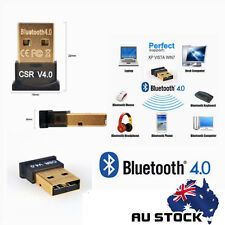 Version V4.0 USB Bluetooth Dongle Wireless Adapter EDR for PC Windows 7 8 10 AU