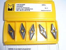 NEU 10 Kennametal VNMG160408MP KCM15 Wendeplatte mit Rechnung