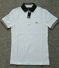 Atticus Men's Original Taylor Polo Shirt White Size S. Brand New With Tags.