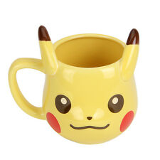Ceramic 3D New Lovely Pikachu Pokemon Pocket Cute Water Tea Cup Coffee Mug Gift