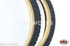 """Cheng Shin Comp 3 Black with Skinwall Sides BMX Tyres 20"""" x 1.75"""" Sold In Pairs"""