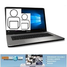 "Notebook Medion Akoya E7420 17,3"" 1TB HDD 128MB SSD 6GB DDR3 RAM Intel Core i3"