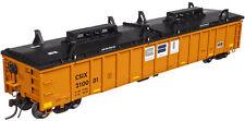 Atlas HO Scale Thrall 2743 Covered Gondola California Steel Ind. CSIX #210001