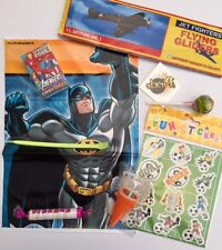 Batman, super hero party bags pre filled, toys and sweets , fast post