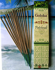 Goloka Patchouli Masala Incense Sticks Natural Non Toxic Top Quality hand rolled