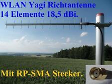 super WLAN Antenne Yagi 10m Kabel Verstärkerung Wifi Booster USB RP-SMA Stecker