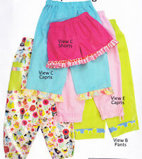 PATTERN - Parker's Pants - simple pants PATTERN for boys or girls ( 1 - 4 )
