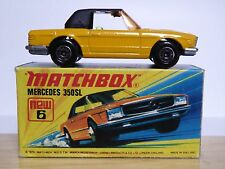 Matchbox Lesney No.6e Mercedes 350SL In Type 'I1' Box (MINT!!)