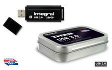 Integral TITAN 256GB USB 3.0 Flash Drive - Ultra Fast Data Transfer
