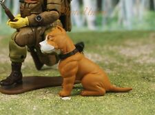 Hood Hounds Pit Bull Pitbull Capo Dog 1:18 GI Joe Size Cake Topper Figure K1285D