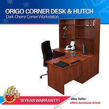 Home Corner Workstation Office Desk with Hutch, Study Furniture, Computer Desks