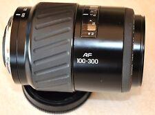 Minolta Tele-Objektiv AF 100-300 / 4.5-5.6 auch sehr gut für Sony-Alpha geeignet