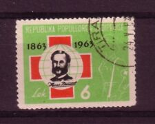 Albania 1963 6L Centenary of Red Cross VFU SG735