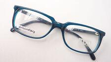 Brille Gestell gerade Form unisex petrol Damen Herren Brillenfassung GR M Trend