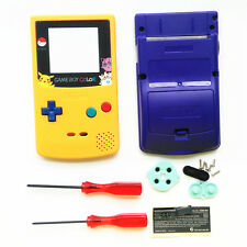 Yellow Purple Limited Full Housing Shell Case for Nintendo Game boy Color GBC