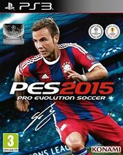 Pro Evolution Soccer 2015 PS3 Game (Sony PlayStation 3, 2014) PES2015