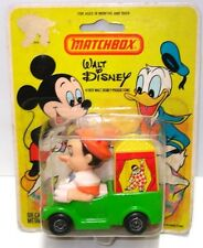 LESNEY MATCHBOX NO. WD-7 DISNEY PINOCCHIO IN HIS CIRCUS CAR - MINT IN PACK 1979