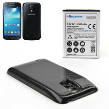 6500mAh Extended Battery for Samsung Galaxy S4 mini GT-i9190/i9195 + black Shell
