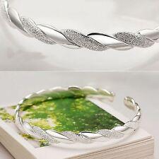 Armband 925 Sterling Silber plattiert Geschenk Damen Armreif Schmuck