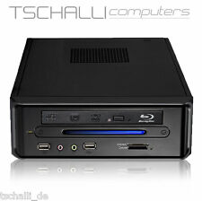 Quad-Core Mini PC DVD HDMI 4K AMD 5350 USB 3.0 SSD 4GB stromspar leise A36