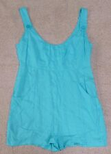 SUPRE blue sleeveless casual romper playsuit, Size L, NWOT