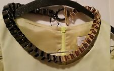 BNWT Mimco Gunmetal/Gold chain Choker Necklace Collar  $129.00 + Dust bag