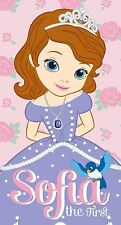 Official Childrens Disney Princess Sofia The First Beach Swimming Bath Towel