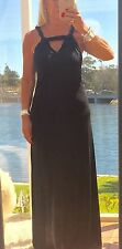 WITCHERY Formal  Dress Maxi Black Full Length  BNWOT