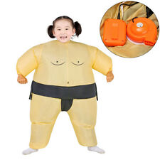 Inflatable Sumo Wrestling Costume For Kids Wrestler Suit Boys Fancy Dress Outfit