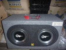 "OZ Audio 2 X 10"" VECTOR3 Series Subwoofers + Flash QMAX SUB Enclosure"