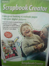ArcSoft Scrapbook Creator Great Looking Scrapbook Pages WORLD SHIP AVAIL