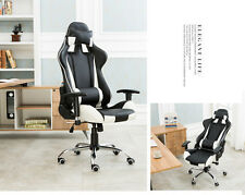 White color Office Chairs Gaming Chair Racing Seats Computer Chair Rocker new