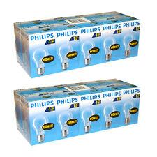 20 x Philips Glühbirne 60W E27 klar 60 Watt Glühbirnen Glühlampe Glühlampen A55