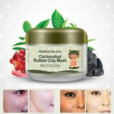 Women Clay Mask Deep Cleansing Carbonated Bubble Anti-Acne Moist Face Mask