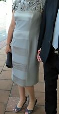 Sz 14 Dress by George Gross  RRP $998 mother of bride/groom STUNNING