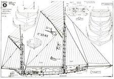 NINA, Karavelle von Christoph Columbus. Modellbauplan