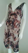 Ladies beautiful OJAY silk dress size 12 formal work office wedding cocktail